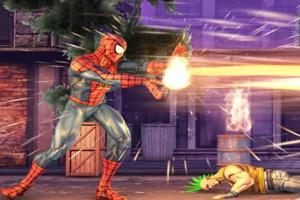 Spiderman Street Fight